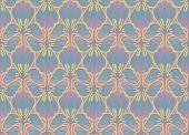 Fantasy florid wallpaper