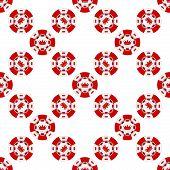 Universal casino chips seamless patterns.