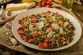 Warm Salad Of Lentils, Bio Healthy