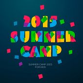 Travel themed Summer Camp poster