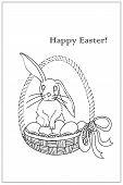 Happy Easter(line)