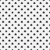 Black poker seamless texture