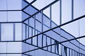glass wall, modern architecture