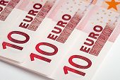 Euro Banknotes. Money Concepts