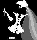 Постер, плакат: shadow of a bride