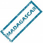 Madagascar rubber stamp