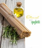 Whole Wheat Spaghetti, Olive Oil And Rosemary