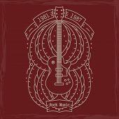 Rock Music Emblem
