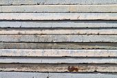 Pile Of Paving Slabs Background