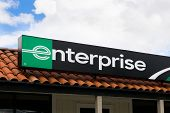 Enterprise Rent-a-car Sign And Store