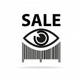 foto of barcode  - Template icon - JPG