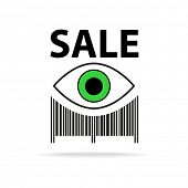 image of barcode  - Template icon - JPG