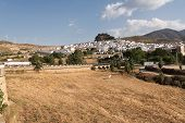 stock photo of pueblo  - Tipical andalusian village  - JPG