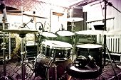 picture of recording studio  - Drums conceptual image - JPG