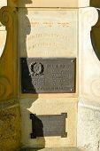stock photo of erection  - The Jewish War Memorial in Kings Park Perth - JPG
