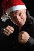 Aggressive Santa