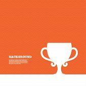 stock photo of winner  - Background with seamless pattern - JPG