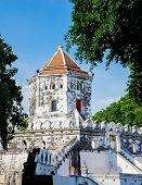 foto of reign  - Phra Sumen Fort Bangkok - JPG