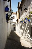 Narrow street in Cordoba