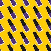 foto of nails  - Nail lacquer or nail polish seamless pattern - JPG