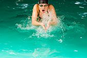 picture of breath taking  - Swimming - JPG