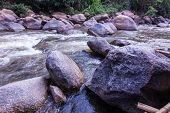 picture of nubian  - Rocks And Nature On The River - JPG