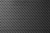 image of speaker  - metal mesh of speaker grill texture - JPG