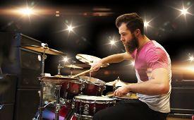 stock photo of rocking  - music - JPG
