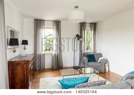 Living Room In A Good Style