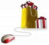 Mouse Gift Shopping Bag