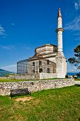 foto of giannena  - Old mosque in the town Ioanina Greece - JPG
