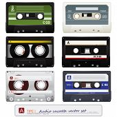 Vector audio cassettes