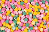 Colorful Mint Candies