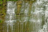 Waterfall in upper New York state.