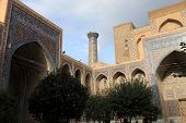 Courtyard Of Madrasa Of Ulugh Beg