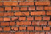 Red Brick Masonry. The Old Brick Walls. Brick Background. Brick Style. Brick Texture. poster