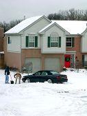 Winter Snow Shoveling