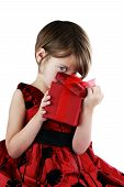 Kind in Geschenkbox