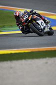 VALENCIA, SPAIN - NOVEMBER 5: Axel Pons in motogp Grand Prix of the Comunitat Valenciana, Ricardo To