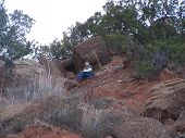 Climbing On The Texas Caprock