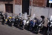 Motor Bikes of Rome