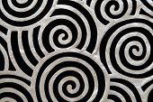 Twirls Twirly Silky Textile Pattern Texture