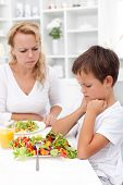 I will definitely not eat that - tough healthy eating education