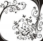 Floral design.