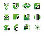 Set of vector logo or design elements