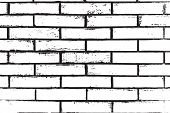 Distress Brick Wall Masonry Overlay Texture. Grunge Urban Dirty Background. Aging Stone Template Cov poster