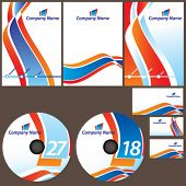 Vector Corporate Identity Set