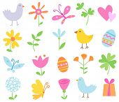 Spring Holiday Objects