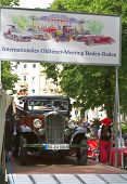 BADEN-BADEN, GERMANY - JULY 13:  CITROEN (1935)  at The International Exhibition of old cars