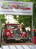 BADEN-BADEN, GERMANY  JULY 13:  CITROEN (1935)  at The International Exhibition of old cars